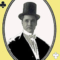 Playing Card Of Actor And Director Romain Fielding Unknown Date-2008 by David Lee Guss