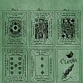 Playing Cards Patent Green by Dan Sproul