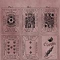 Playing Cards Patent Red by Dan Sproul