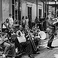 Playing Jazz On Royal Street Nola by Kathleen K Parker