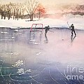 Playing On Ice by Yoshiko Mishina