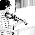 Playing Violin by Alice Gipson