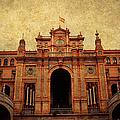 Plaza De Espana 1. Seville by Jenny Rainbow