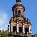 Plaza De Espana Tower by Jenny Hudson