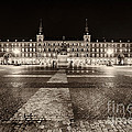 Plaza Mayor After Midnight by George Oze