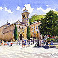 Plaza Nueva by Margaret Merry