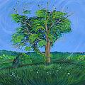 Pleasant Township Tree by Beckie J Neff