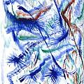 Plume Bleues by Myrtle Joy