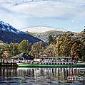 Pleasure Cruiser On Ullswater by Linsey Williams