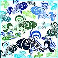 Plenty Of Fish In The Sea 4 by Angelina Vick