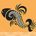 Plenty Of Fish In The Sea 5 Fish by Angelina Vick