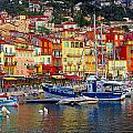 Plongee At Villefranche by Jim Southwell