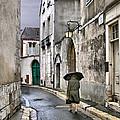 Pluie A Chartres - 1 by Nikolyn McDonald