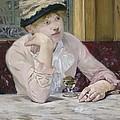 Plum Brandy by Edouard Manet