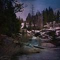 Plumas River In Sierras by Bobbee Rickard