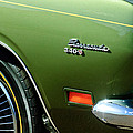 Plymouth Barracuda 340-s Emblem by Jill Reger