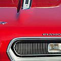 Plymouth Barracuda Grille Emblem by Jill Reger