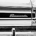 Plymouth Barracuda Taillight Emblem -0711bw by Jill Reger
