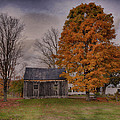 Plymouth Notch Barn In The Fall by Martin Belan