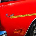 Plymouth Road Runner Closeup by Mark Spearman
