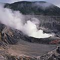 Poas Volcano National Park Costa Rica by Gerry Ellis