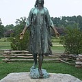 Pocahontas Sculpture by Christiane Schulze Art And Photography