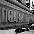 Poe's Grave by Jennifer Ancker
