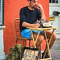 Poet For Hire - Paint by Steve Harrington