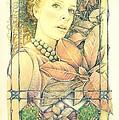 Poinsettia by Kathleen Bischoff