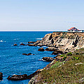 Point Arena Lighthouse by Mike Ronnebeck