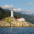 Point Atkinson Lighthouse by Brian Chase