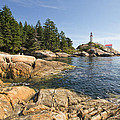 Point Atkinson Lighthouse In Vancouver Bc by Jit Lim