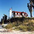 Point Betsie Lighthouse by Crystal Nederman