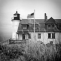 Point Betsie Lighthouse II by Jeff Burton