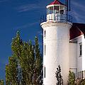 Point Betsie Lighthouse Michigan by Adam Romanowicz