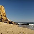 Point Dume At Zuma Beach by Adam Romanowicz