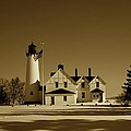 Point Iroquois Light Station by Mountain Dreams