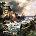 Point Lobos Monterey California by Thomas Moran