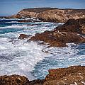 Point Lobos Surf by Mike Penney
