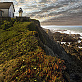Point Montara Light House II by Sharon Foster
