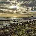 Point Piedras Blancas Sunset 1 by Jim Moss
