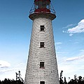 Point Prim Lighthouse 3 by Joseph Marquis