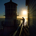 Point Reyes Lighthouse by Jerry McElroy