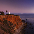 Point Vicente Lighthouse - Sunset Panorama - Rancho Palo Verdes by Photography  By Sai