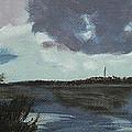 Pointe Aux Chein Blue Skies by Carol Oufnac Mahan