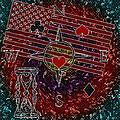 Poker Addiction Digital Painting by Georgeta Blanaru