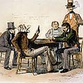 Poker Game, 1840s by Granger