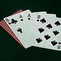 Poker Hands - Dead Man's Hand by Alexander Senin