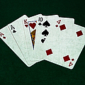 Poker Hands - One Pair 1 by Alexander Senin