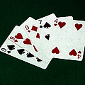 Poker Hands - Three Of A Kind 2 by Alexander Senin